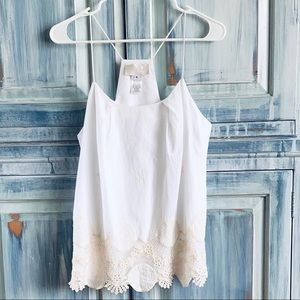 Anthropologie for Cory Lynn Calter Cotton Tank